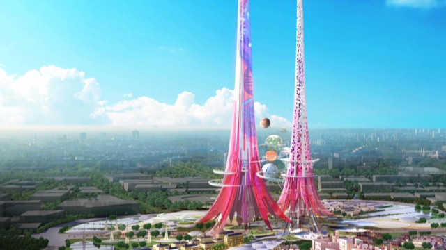 World S Tallest Buildings Will Clean Air