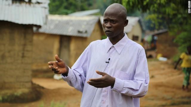 Saa Sabas, Ebola survivor from southern Guinea: