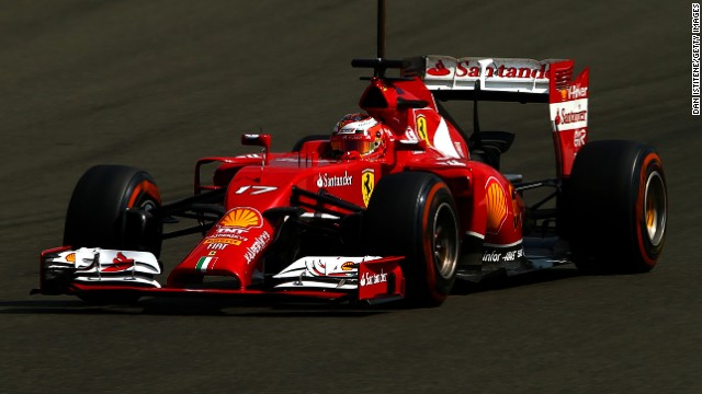 Jules Bianchi drives a Ferrari during day two of testing at Silverstone Circuit on Wednesday in Northampton, England.