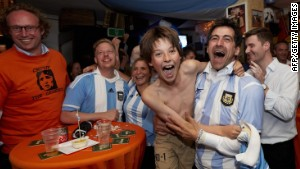 Argentinians predict the World Cup