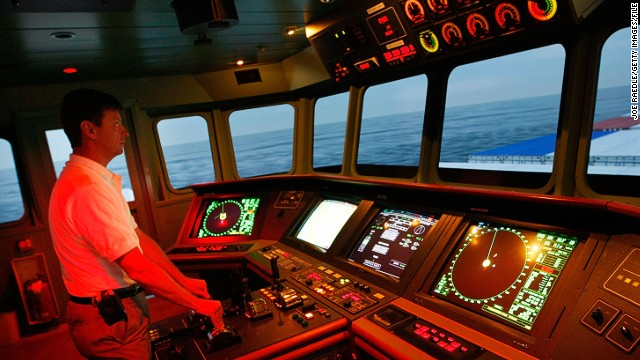"""But what happens when technology fails, asks Simon Bennett of the International Chamber of Shipping? """"It's important for seafarers to have celestial navigation, getting out their sextants or looking at the moon to work out where they are,"""" he said."""