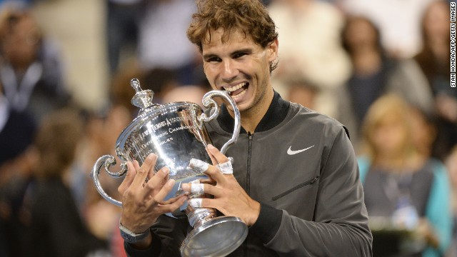 If Rafael Nadal repeats as U.S. Open champion, he'll get a raise as the tournament is again increasing prize money.