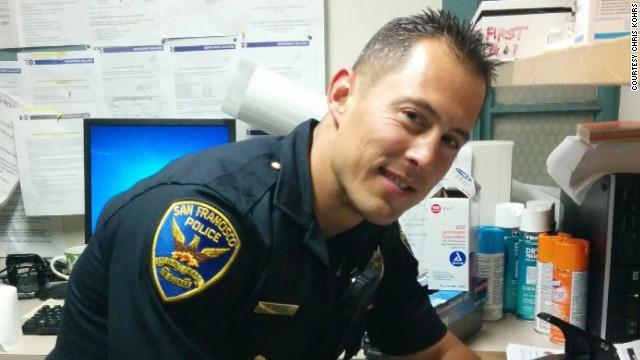 San Francisco Police Officer Chris Kohrs -- the