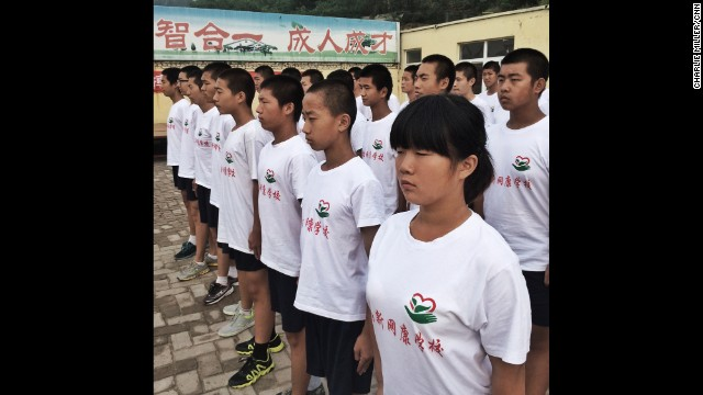 "CHINA: ""Inmates parade at a privately run detention camp for Internet 'addicts' at Jinan, China. The teenagers are subjected to a strict regime of physical & mental drills isolated from the outside world for up to 4 months."" - CNN's Charlie Miller. Follow Charlie (<a href='http://instagram.com/cnncharlie' target='_blank'>@cnncharlie</a>) and other CNNers along on Instagram at <a href='http://instagram.com/cnn' target='_blank'>instagram.com/cnn</a>."