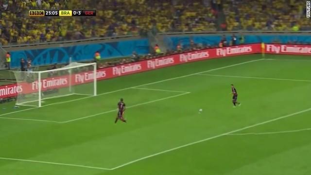 """El 7-1 de Alemania a Brasil recreado con jugadores brasileños """"fantasma"""""""