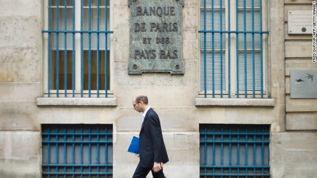 French bank BNP Paribas is braced for a record fine of almost $9 billion for breaching U.S. sanctions on Iran, Sudan and Cuba.