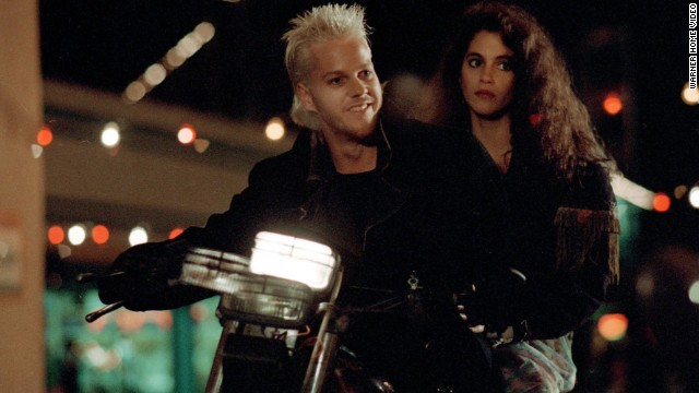 "The '80s was rife with both horror classics and timeless teen films, with 1987's ""The Lost Boys"" being a lovably imperfect combination of both. Kiefer Sutherland starred as the peroxide blonde leader of a pack of heavy metal vamps that wouldn't have looked out of place in a trigonometry class."