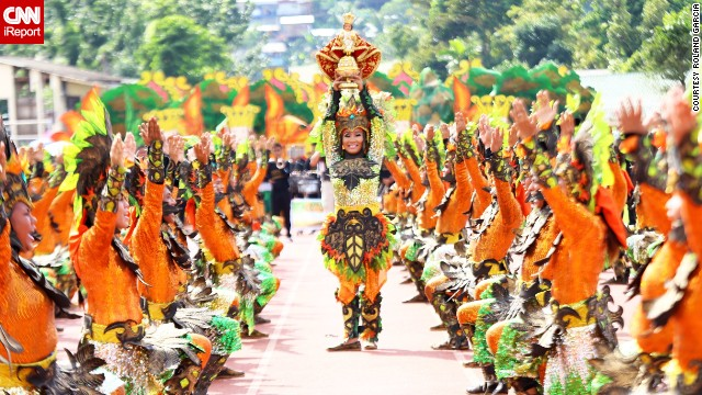 "The Pintados-Kasdayaan Festival in late June is one of the best festivals in the Philippines, says Filipino photographer Rolan Garcia, who has been covering festivals for years. The cultural and religious celebration in Tacloban City celebrates the body-painting traditions of the ancient tattooed ""pintados"" warriors."