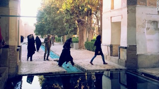 Fin Garden in Kashan, Iran's oldest Persian garden, was completed in 1590.
