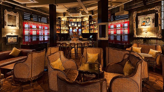 New Singapore bar Studio 1939 by Potato Head Folk is set on the third floor of an art deco building on Keong Saik Road. The reservations-only bar serves small plates paired with cocktails made with artisan spirits.