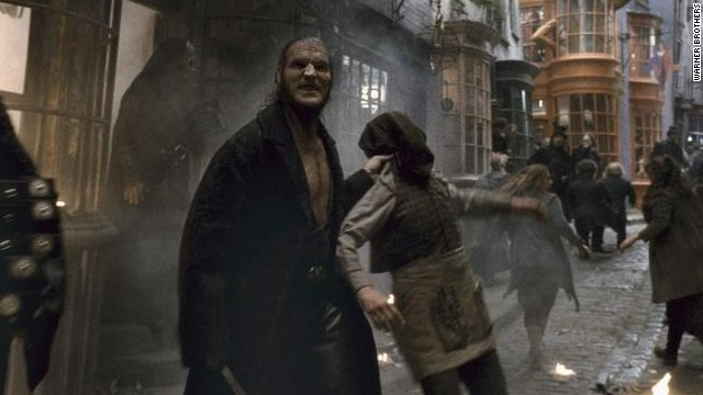 David Legeno played Fenrir Greyback in the