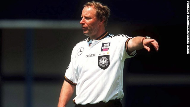 Berti Vogts: Germany's Wadenbeisser, first as a player then as a coach