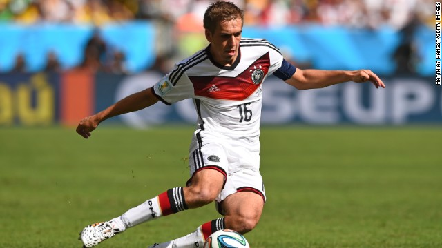 Philipp Lahm: Wadenbeisser from the current squad