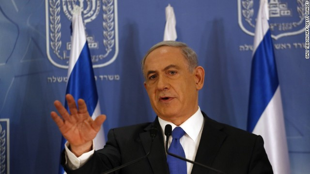 Israeli Prime Minister Benjamin Netanyahu: