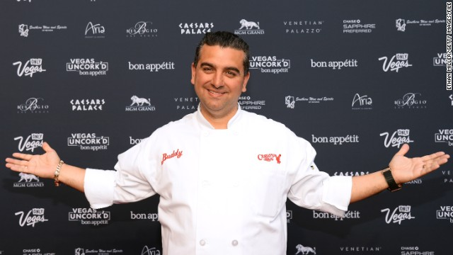Buddy Valastro says he wants to bake a cake for the rescuers.