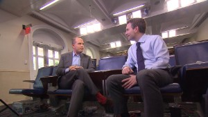 140713122828 rs earnest stelter 3 story body White House transparent? Yes says new press secretary