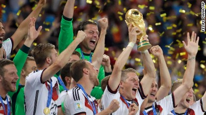 Football: Germany crowned champions