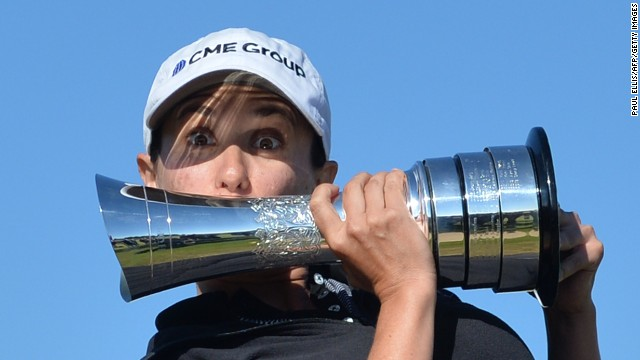 Mo Martin won the Women's British Open at Royal Birkdale, Southport, England.