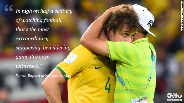 Has there ever been a game so talked about as Brazil's 7-1 World Cup semifinal thrashing by Germany?