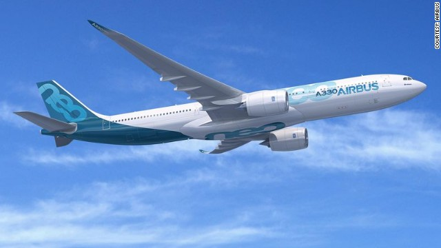 Airbus expects to sell at least 1,000 of the aircraft over the week.