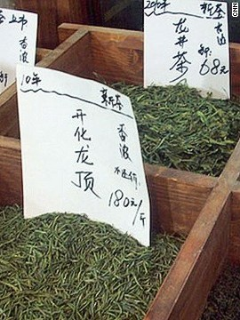 China grows some of the world's finest tea. If you can't <a href='http://edition.cnn.com/2014/06/22/travel/china-tea-travel/index.html?hpt=hp_c5'>make it to the source</a>, Shanghai's Laoximen Tea Plaza houses a variety of specialty tea shops.