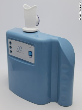 The Aeonose, from Dutch company <a href='http://www.enose.nl/' target='_blank'>eNose</a>, is being developed to provide near-instant analysis of breath for TB and lung cancer.