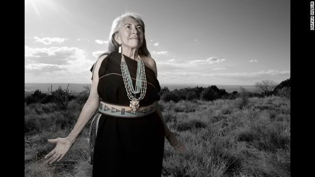 Mary Evelyn Jiron Belgarde has a doctorate in education administration and is from the Pueblos of Isleta and Ohkay Owingeh, both in New Mexico.