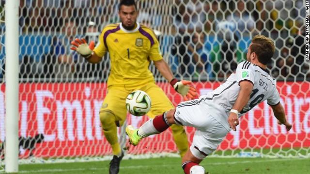 Mario Gotze -- Bayern Munich/Germany.