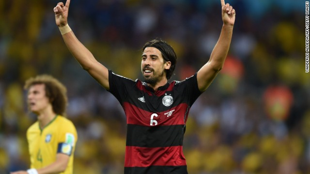 Sami Khedira, another 2009 graduate, was arguably man of the match as Germany beat hosts Brazil 7-1 in last week's World Cup semifinal.
