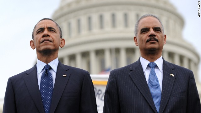 'Racial animus' towards Holder and Obama?