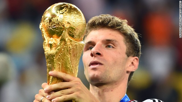 Thomas Muller -- Bayern Munich/Germany.
