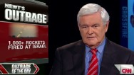 Gingrich outraged Israel under attack