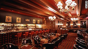 Okura Hotel\'s Bar Highlander whiskey lounge.