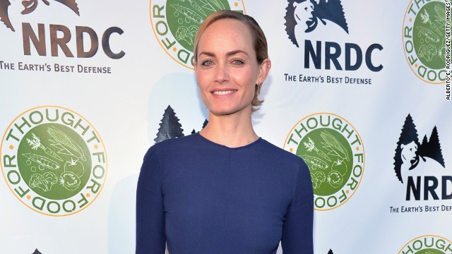 Actress and model Amber Valletta had her