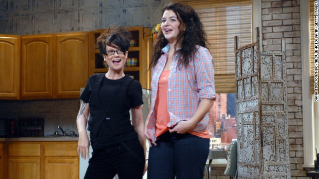 "Casey Wilson, right, doing a skit with Amy Poehler, was let go in 2009 after only one season. She laughed off reports she was <a href='http://www.people.com/people/article/0,,20303828,00.html' target='_blank'>fired for being curvy, telling People</a> magazine, ""And to clarify, the issue isn't that I'm too fat, it's that I'm too phat. Can I get a WHAT-WHAT!"""