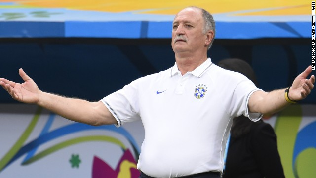 Luiz Felipe Scolari must have wondered what happened to his Brazil at the World Cup.