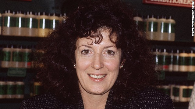 Anita Roddick started The Body Shop in 1976 as a way of supporting her young family. She started selling naturally-scented soaps and lotions,and the business grew rapidly expanding to become one of the most recognizable brands in the world.