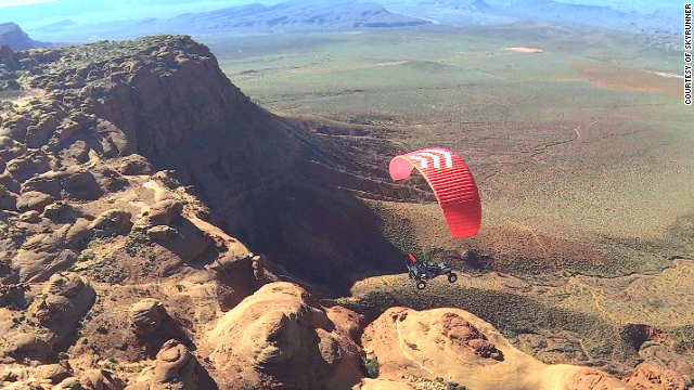 With an EcoBoost engine for swift takeoff and paraglider wing technology for minimal turbulence, the SkyRunner promises comfort and stability with little effort.