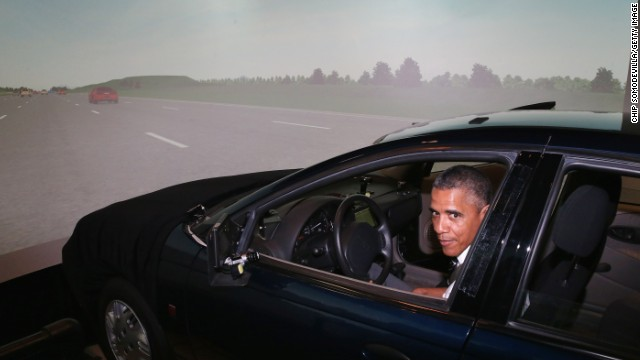 Obama's Republican road rage