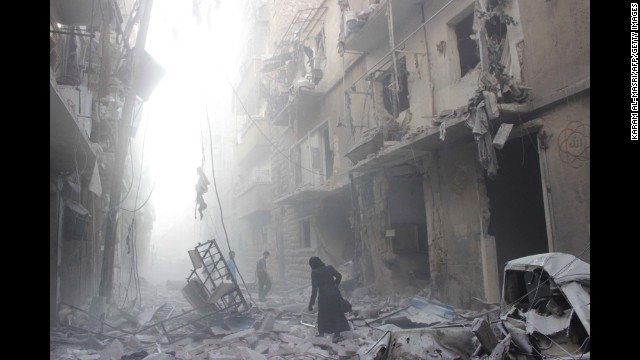 Photos: Syrian civil war in 2014