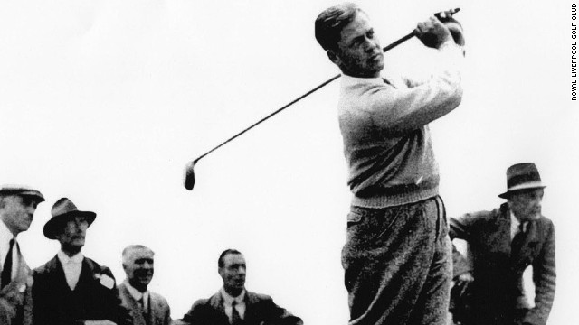 It was at Hoylake in 1930 that Bobby Jones won the British Open. Jones was the champion golfer of his age and one of the first sports stars to make the front pages of newspapers and magazines.