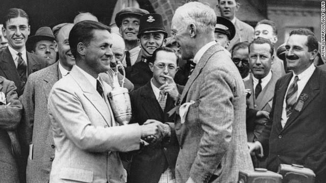 Jones was made an honorary member at Hoylake after his victory. This meant the only three amateurs to win the British Open title had all been members at the club -- Harold Hilton and John Ball being the others.