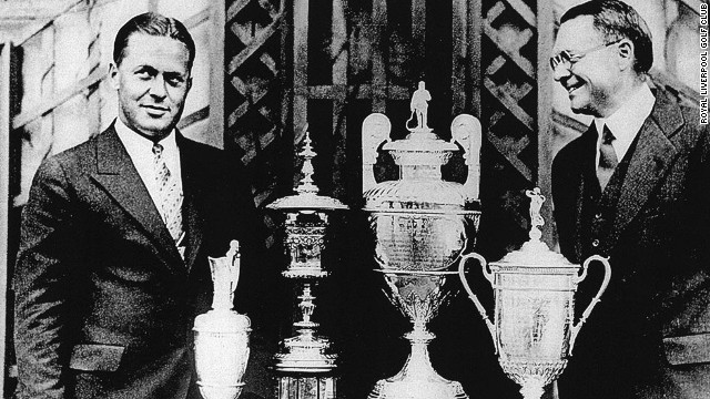 Jones' British Open win also meant he captured something else -- a red blazer worn by all Hoylake members who had been captain of the golf club. He had been fascinated by the red jacket of Kenneth Stoker at a players' dinner prior to the tournament, and Stoker promised to give his to Jones should he triumph.