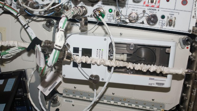 "NASA's ""Enose"" was used on the International Space Station to detect air contamination. The technology is now being developed by Vantage Health as a mobile healthcare product."