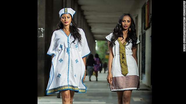 Abugida Fashion is an Ethiopian clothing brand which produces custom-made garments for all occasions. Its designs are a fusion of strong Ethiopian heritage and Western aesthetics.
