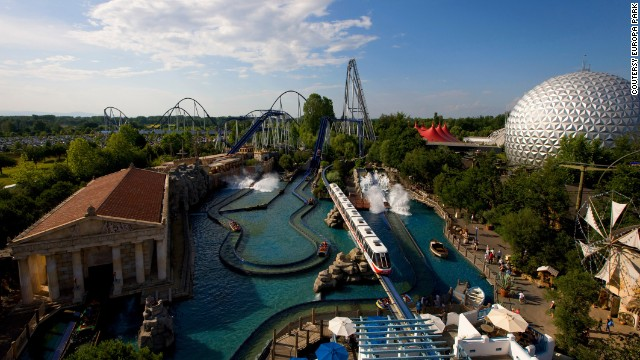 Germany's Europa Park -- TripAdvisor's second best amusement park -- is home to Blue Fire, which catapults riders from zero to 71 mph in 2.5 seconds with no overhead restraint.