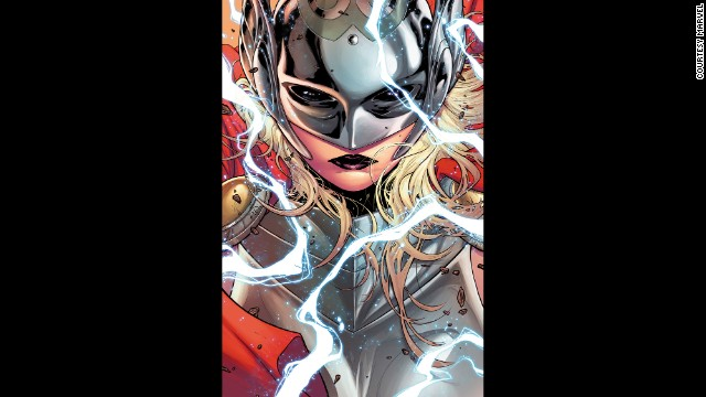 "It's a new day for the god of thunder: Thor will now be a woman, Marvel announced on July 15. ""This is not She-Thor,"" writer Jason Aaron said in a press release. ""This is not Lady Thor. This is not Thorita. This is THOR. This is the THOR of the Marvel Universe. But it's unlike any Thor we've ever seen before."" Thor will officially pick up her hammer this October. Click through to see other awesome female comic book superheroes:"