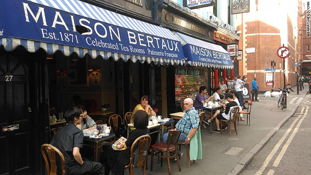For those who like a slice of history -- and art -- with their cake, shops like Maison Bertaux, in London's Soho district, have all the right ingredients.
