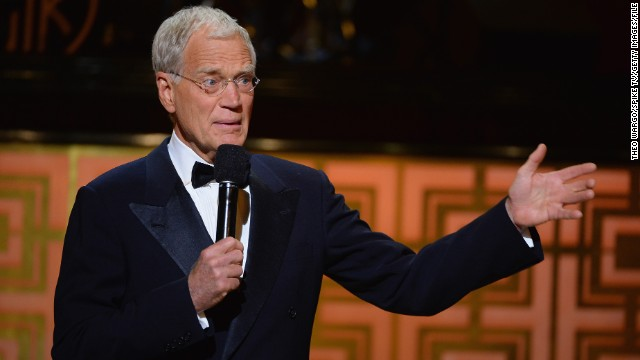 <strong>Worst: </strong>David Letterman announces his retirement in April, breaking fans' hearts and upsetting many late-night viewing habits.