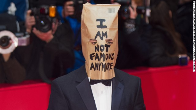 <strong>Worst:</strong> Shia LaBeouf's strange detour into performance art earlier this year was entertaining for some, but it was an unnecessary distraction and did nothing to help his troubled reputation. We're hoping for a future of fewer paper bags and magic markers and more focus on the career.
